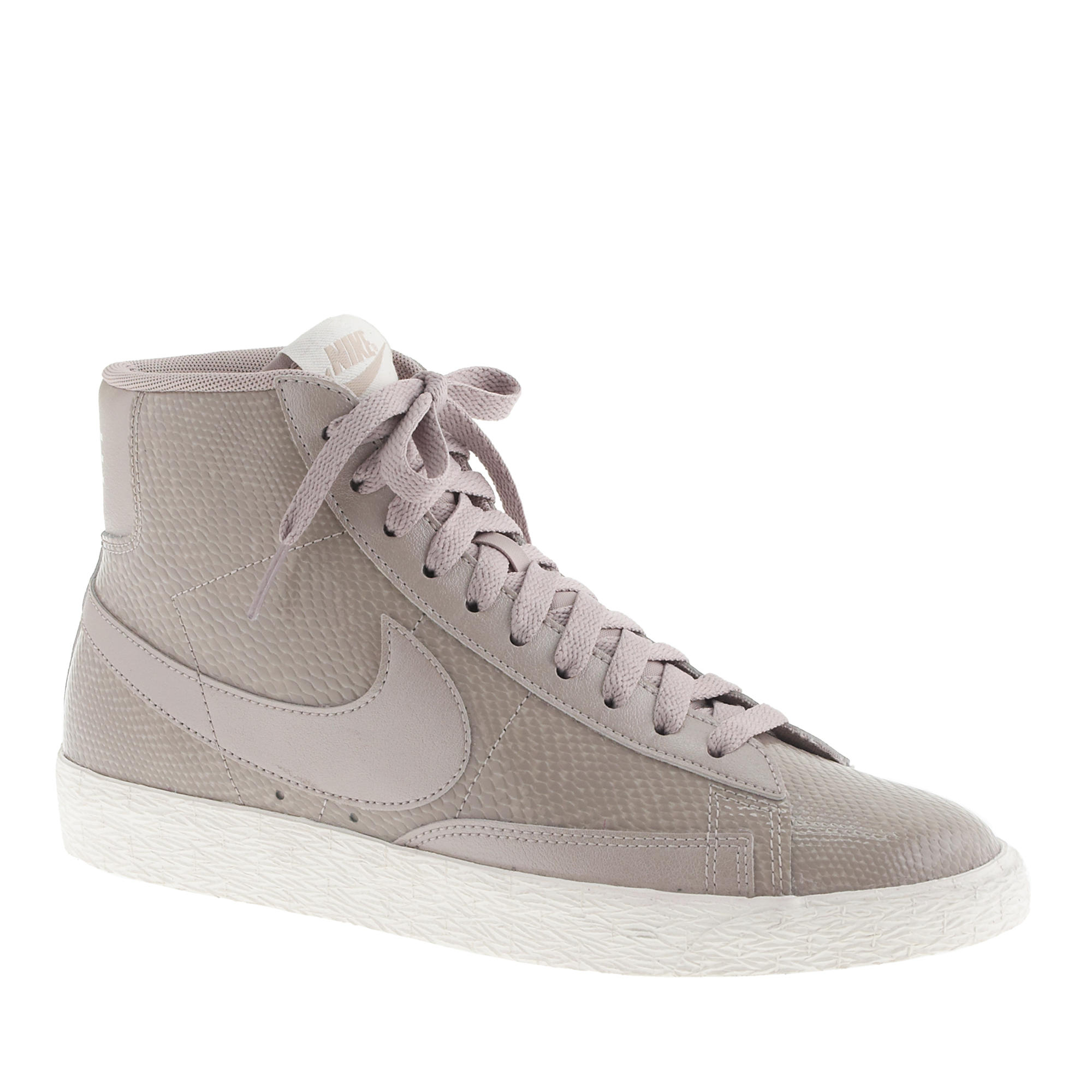 official photos 7164c 9e18c ... where to buy lyst j.crew womens nike blazer mid vintage sneakers in  gray 7f2a4