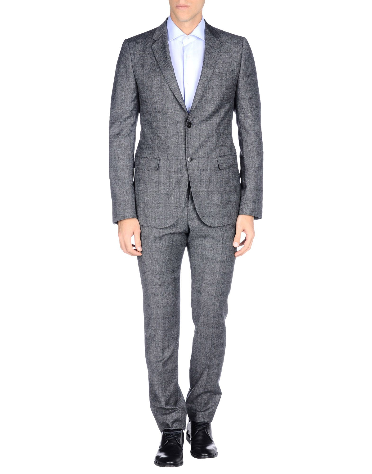 Lyst Gucci Suit In Gray For Men