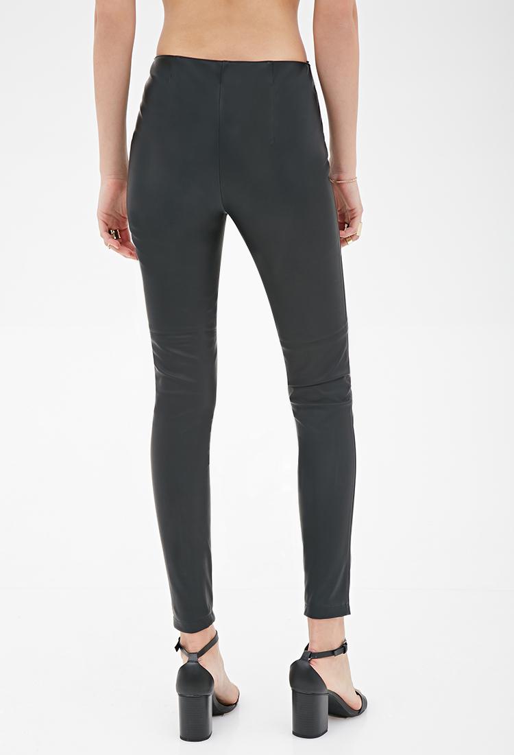 Model Leather Pants For Women Forever 21  Wwwimgarcadecom  Online Image