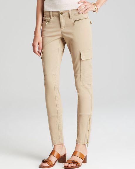 Perfect Skinny Cargo Pants Tan In Beige TAN  Lyst
