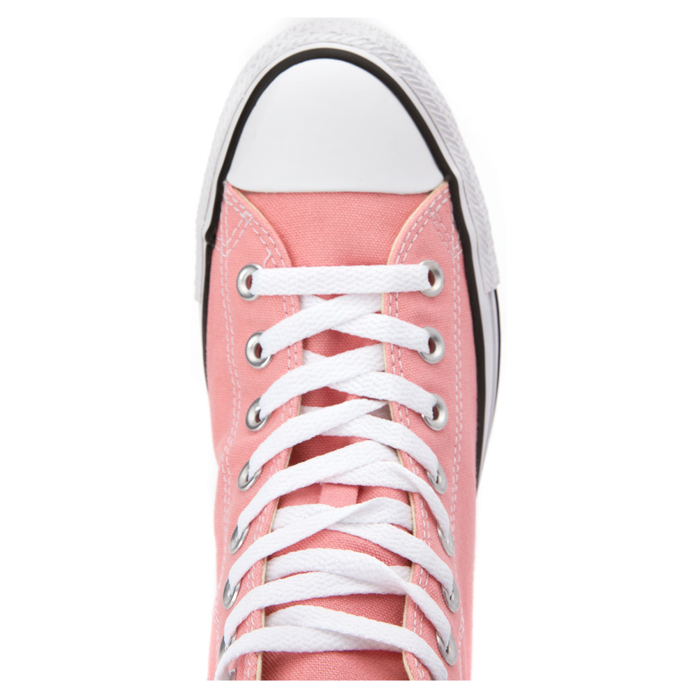 converse chuck taylor all star high top sneaker in pink lyst