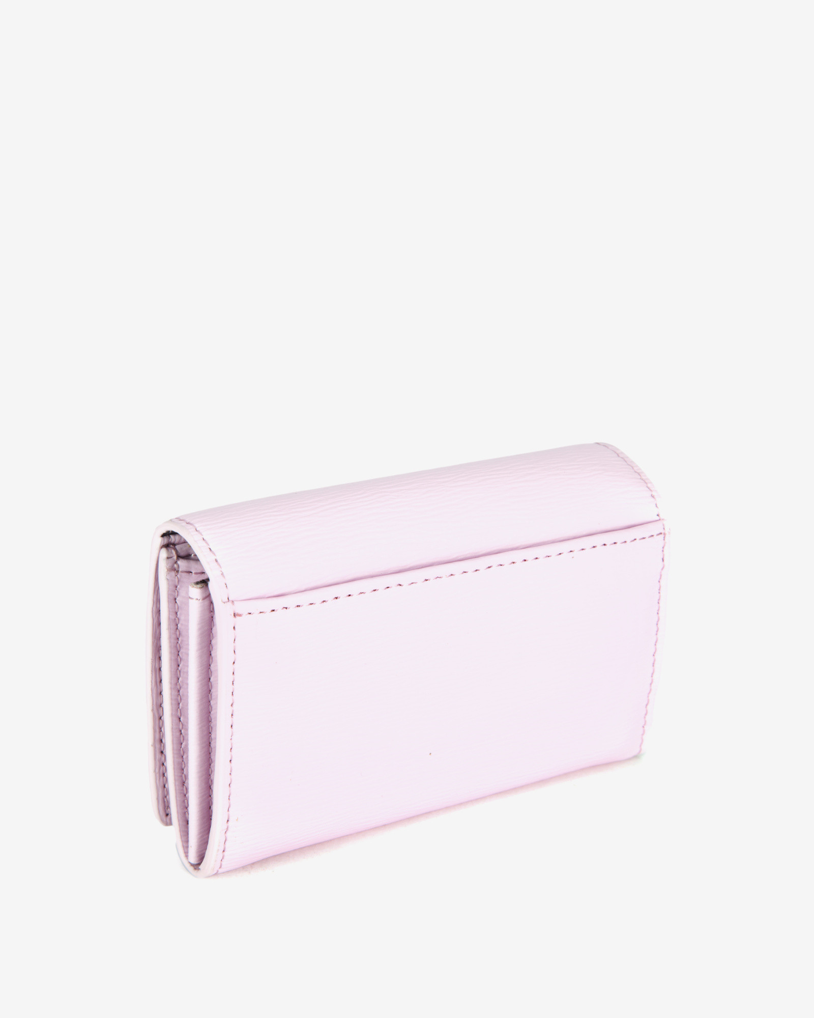 61458fc10fb46a Lyst - Ted Baker Small Crosshatch Leather Purse in Pink
