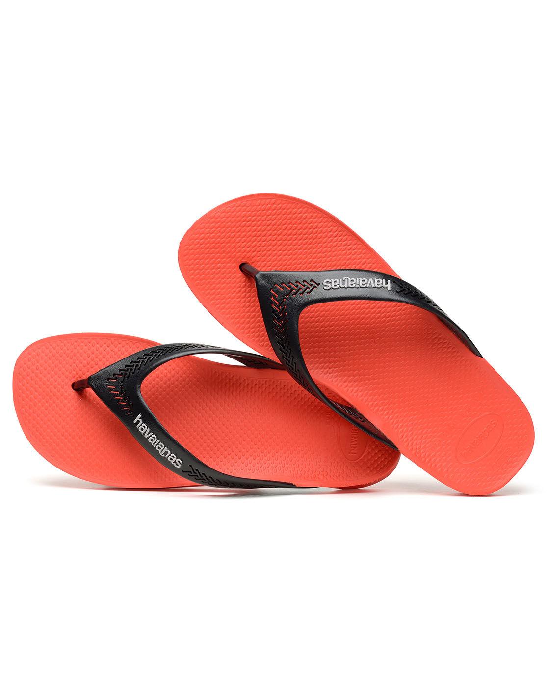 Havaianas Wide Red Flip Flops In Red For Men Lyst
