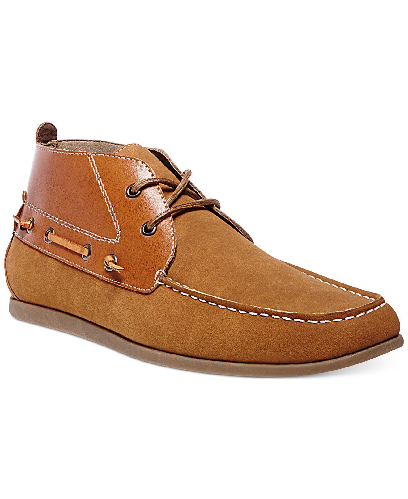 Steve Madden Madden Grotto Chukka Boots In Brown For Men