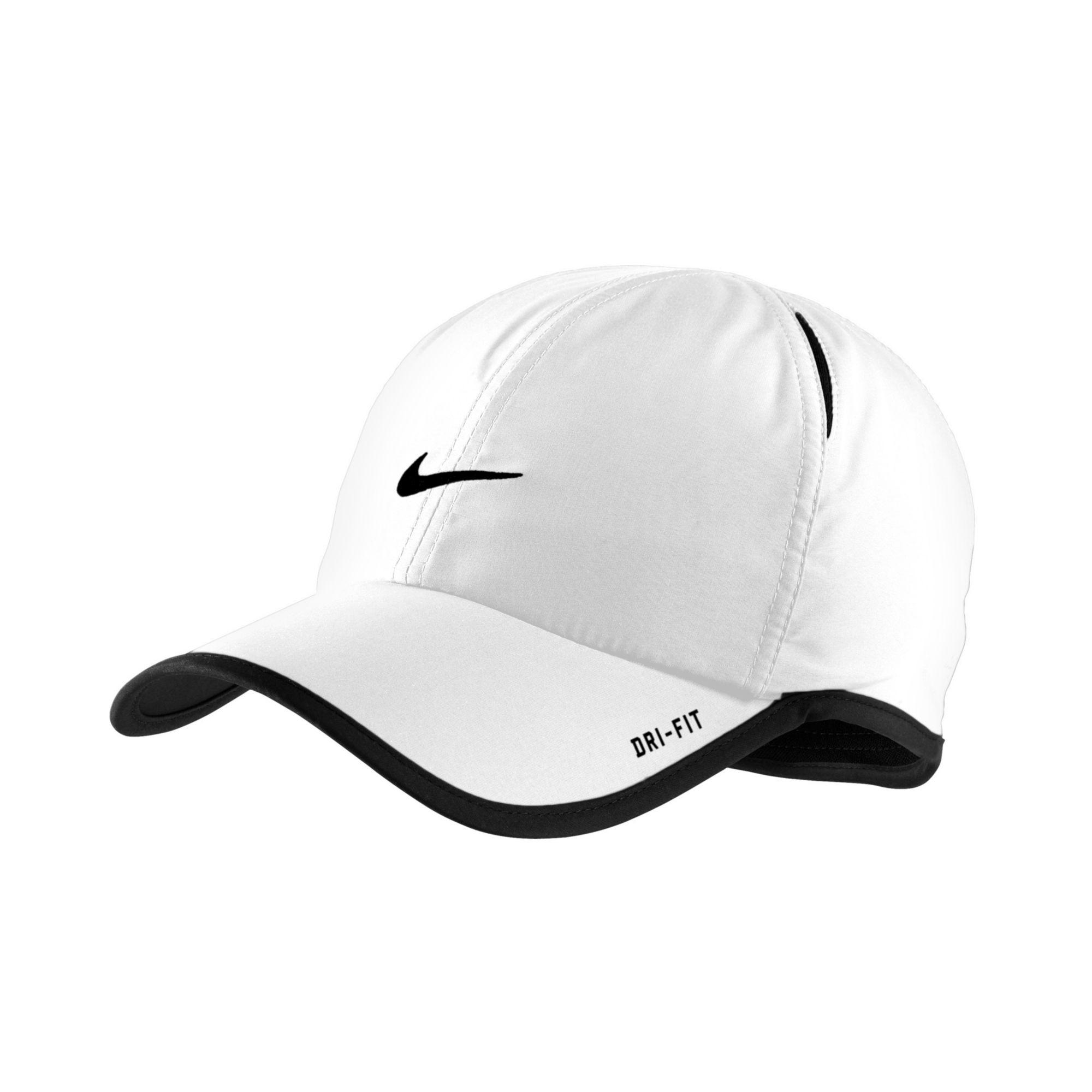 Lyst - Nike Dri Fit Feather Light Cap in Black for Men 56d3c72da54