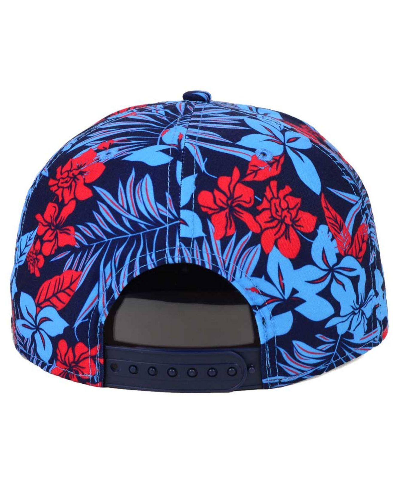d4799684b6b027 ... 50% off lyst ktz tennessee titans wowie snapback cap in blue for men  f5d45 94d84