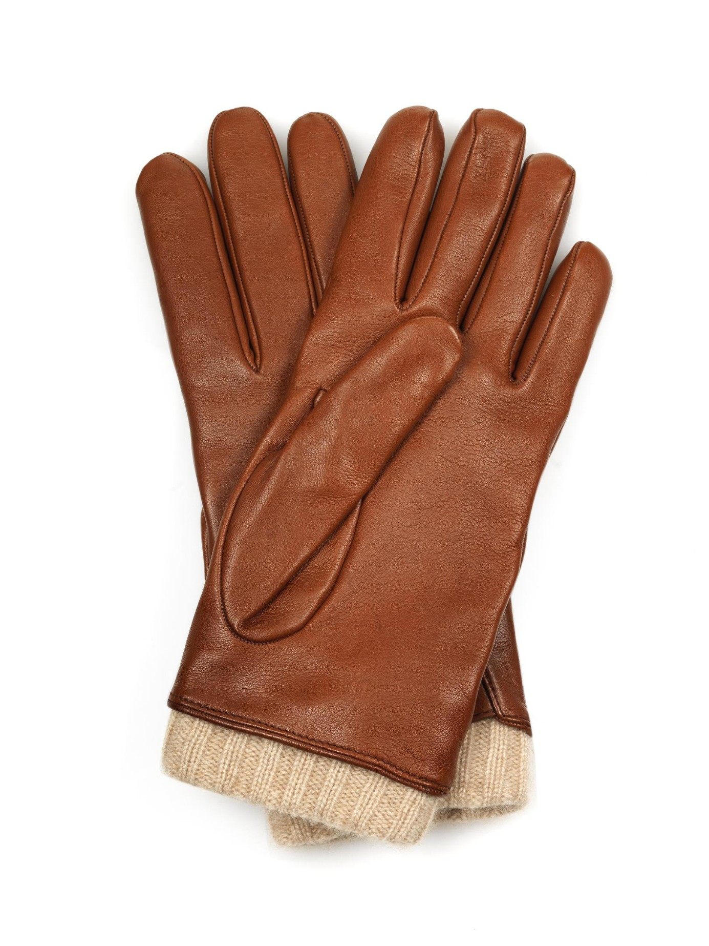 Tiger leather driving gloves - Gallery