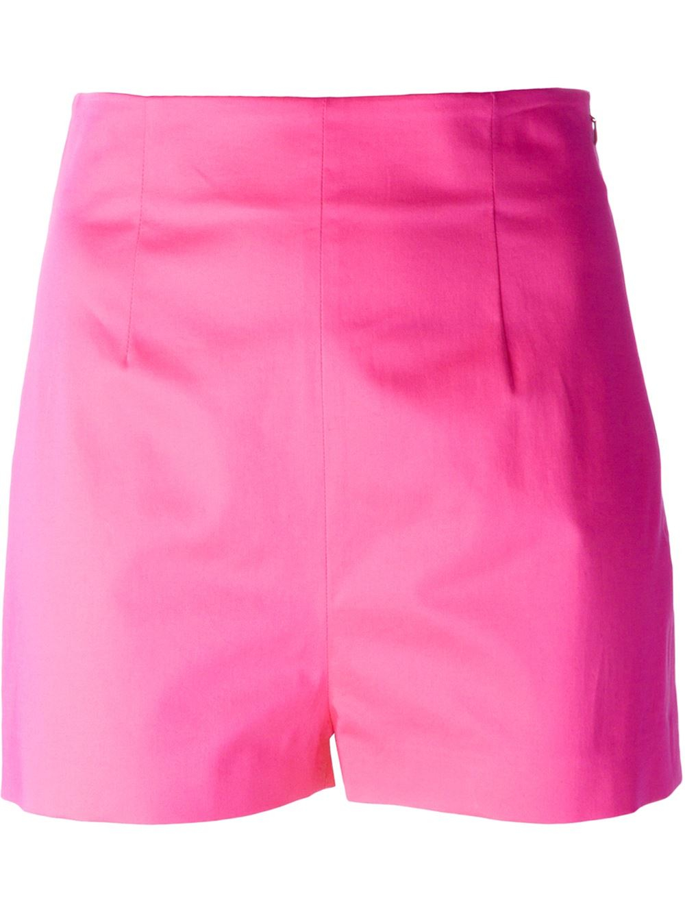 Moschino High Waisted Shorts In Pink Pink Amp Purple Lyst