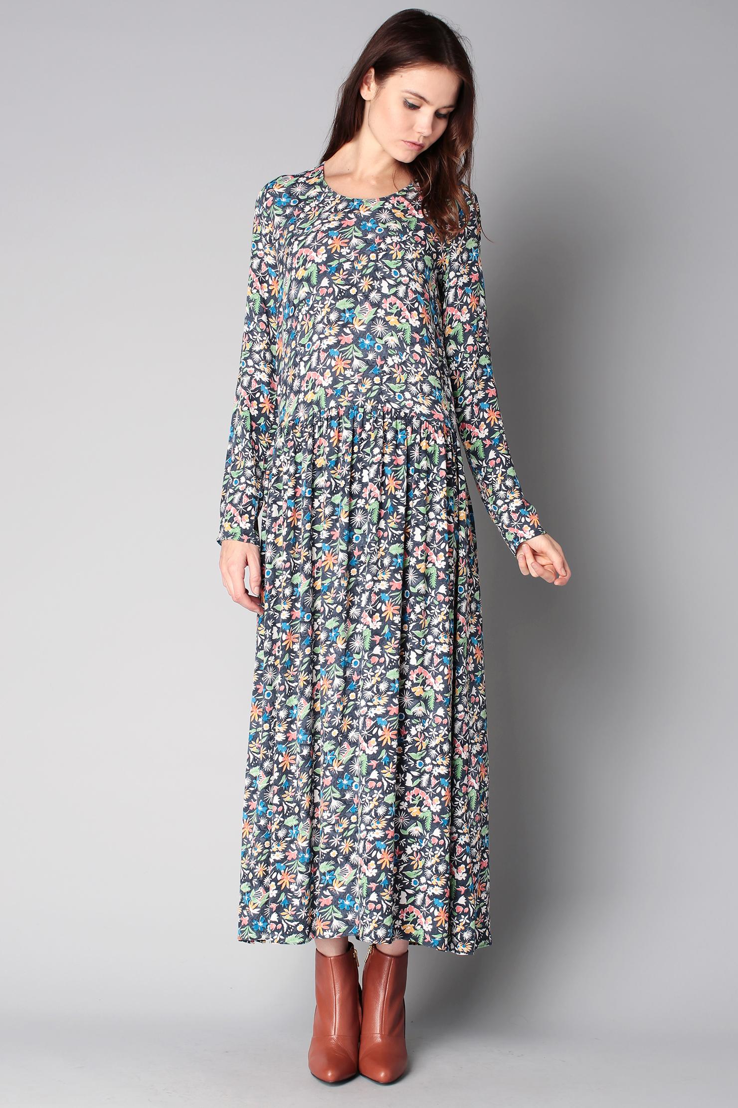 American vintage maxi dress