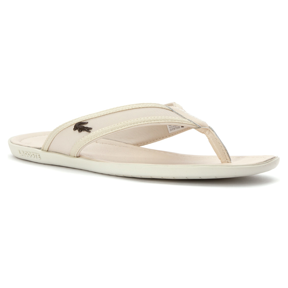 df0a59f4f Lyst - Lacoste Carros 6 Sandal in White for Men