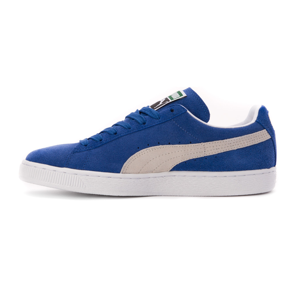 puma shoes suede blue