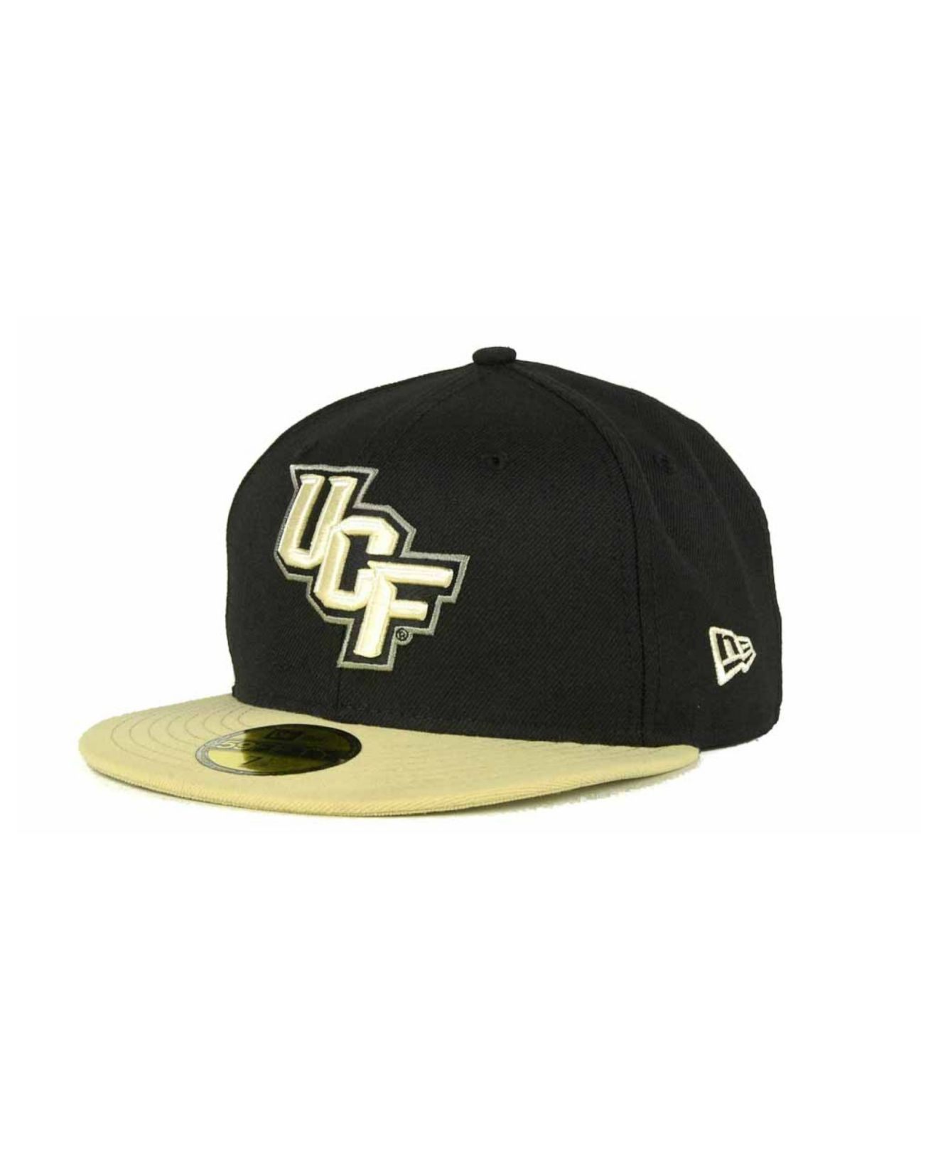 super popular 209ec 74afe ... store lyst ktz ucf knights 2 tone 59fifty cap in yellow for men f5798  e3bf7