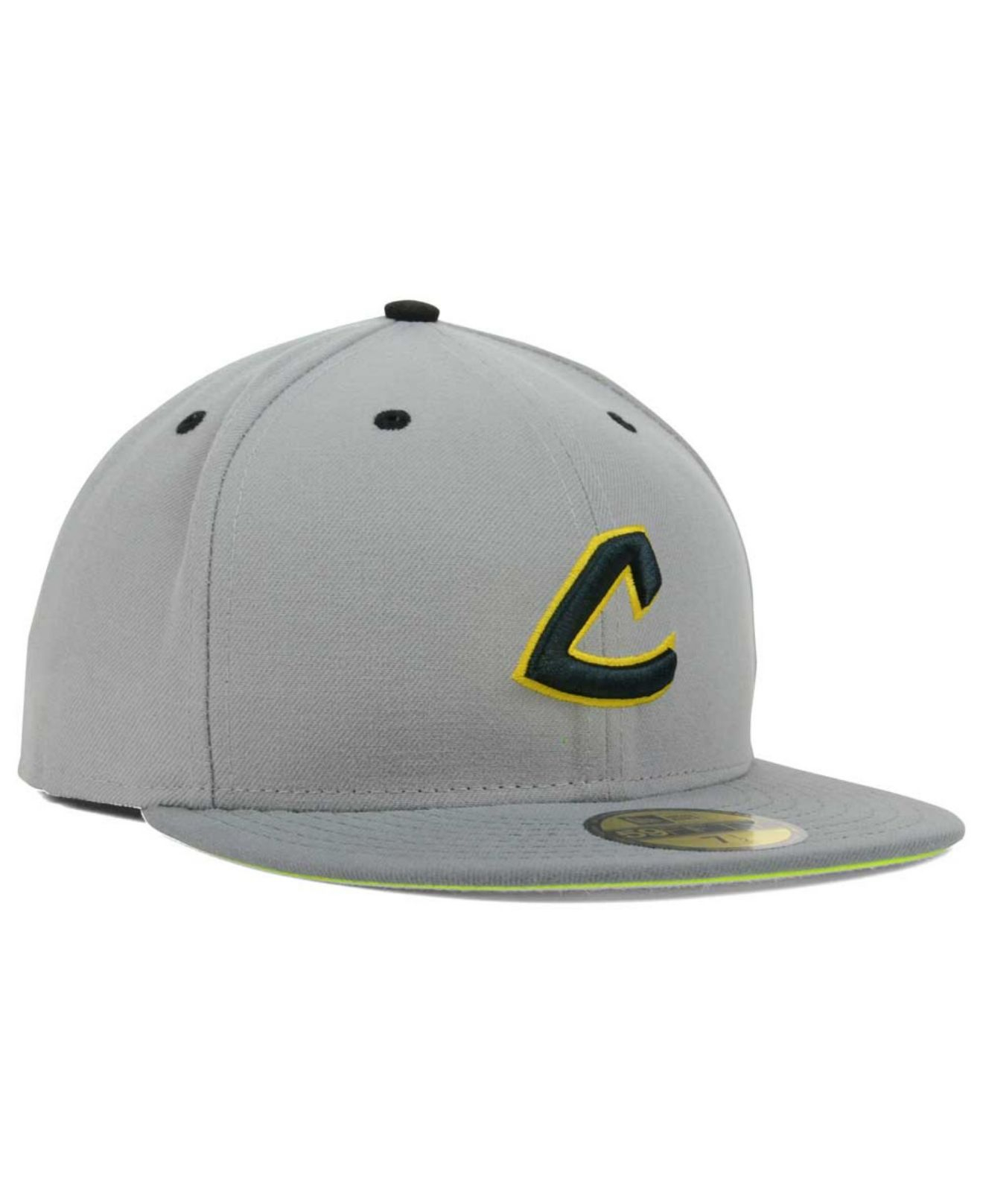 competitive price 695b7 5f2b8 Lyst - KTZ Cleveland Indians Mlb Gvolt 59fifty Cap in Gray for Men
