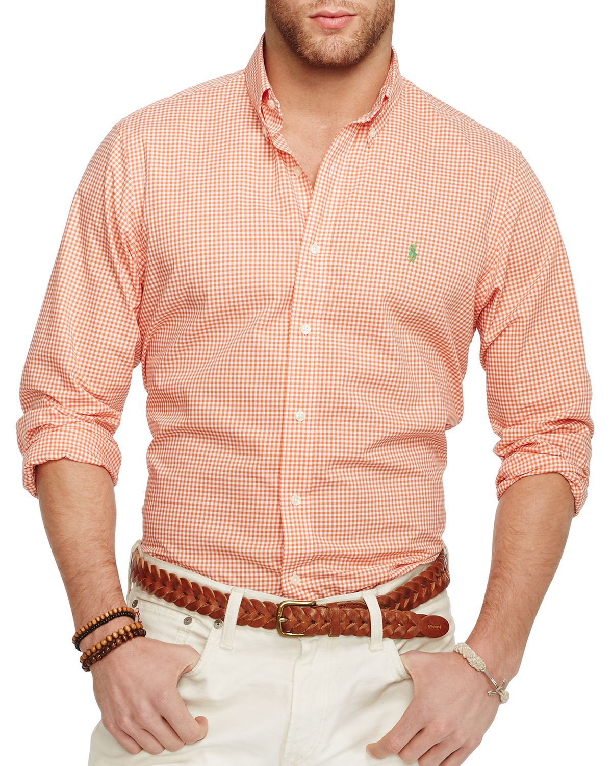 Ralph lauren Gingham Poplin Button Down Shirt - Regular Fit in ...