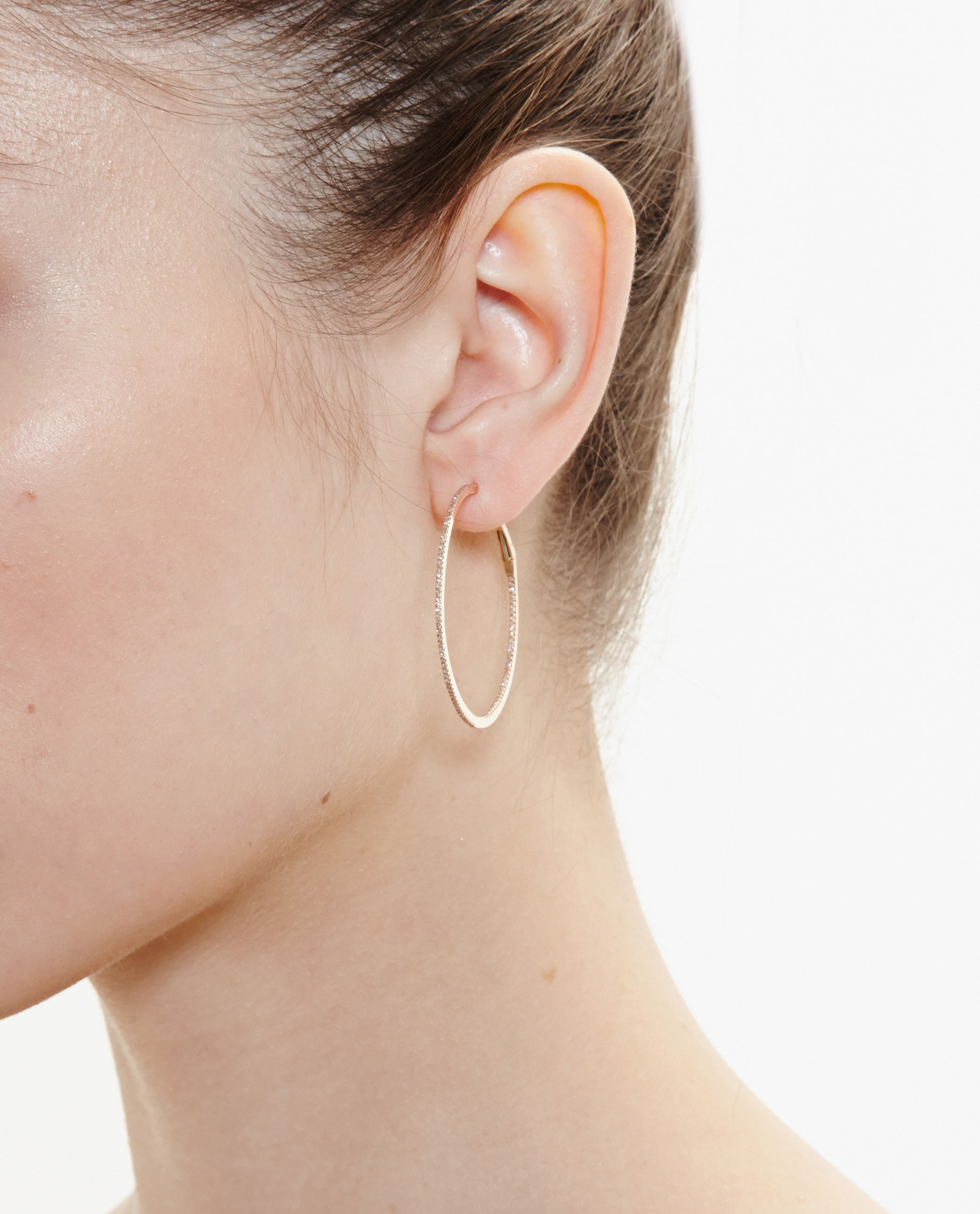 Gallery Previously Sold At Browns Women S Gold Hoop Earrings