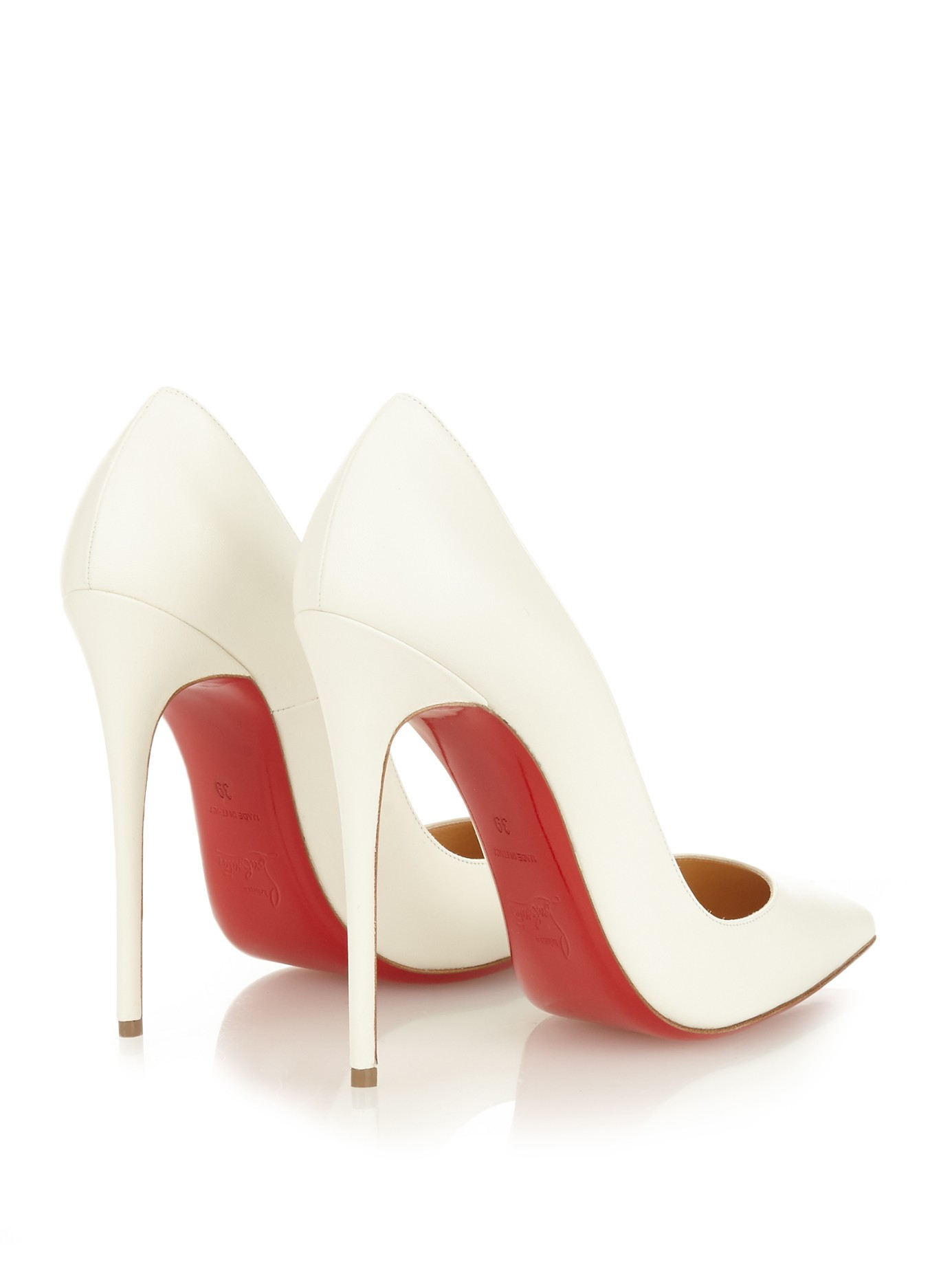 30bf7a408e9 Gallery. Previously sold at  MATCHESFASHION.COM · Women s Christian  Louboutin So Kate ...