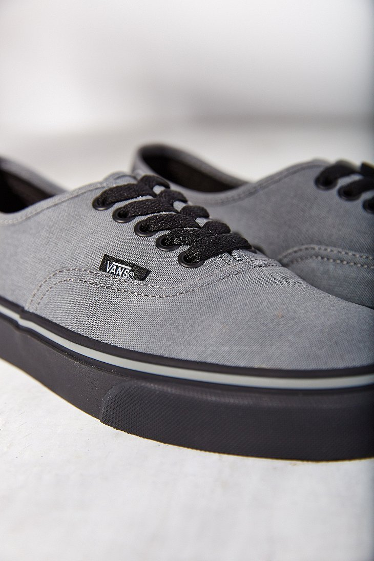 Vans Gray Black Sole