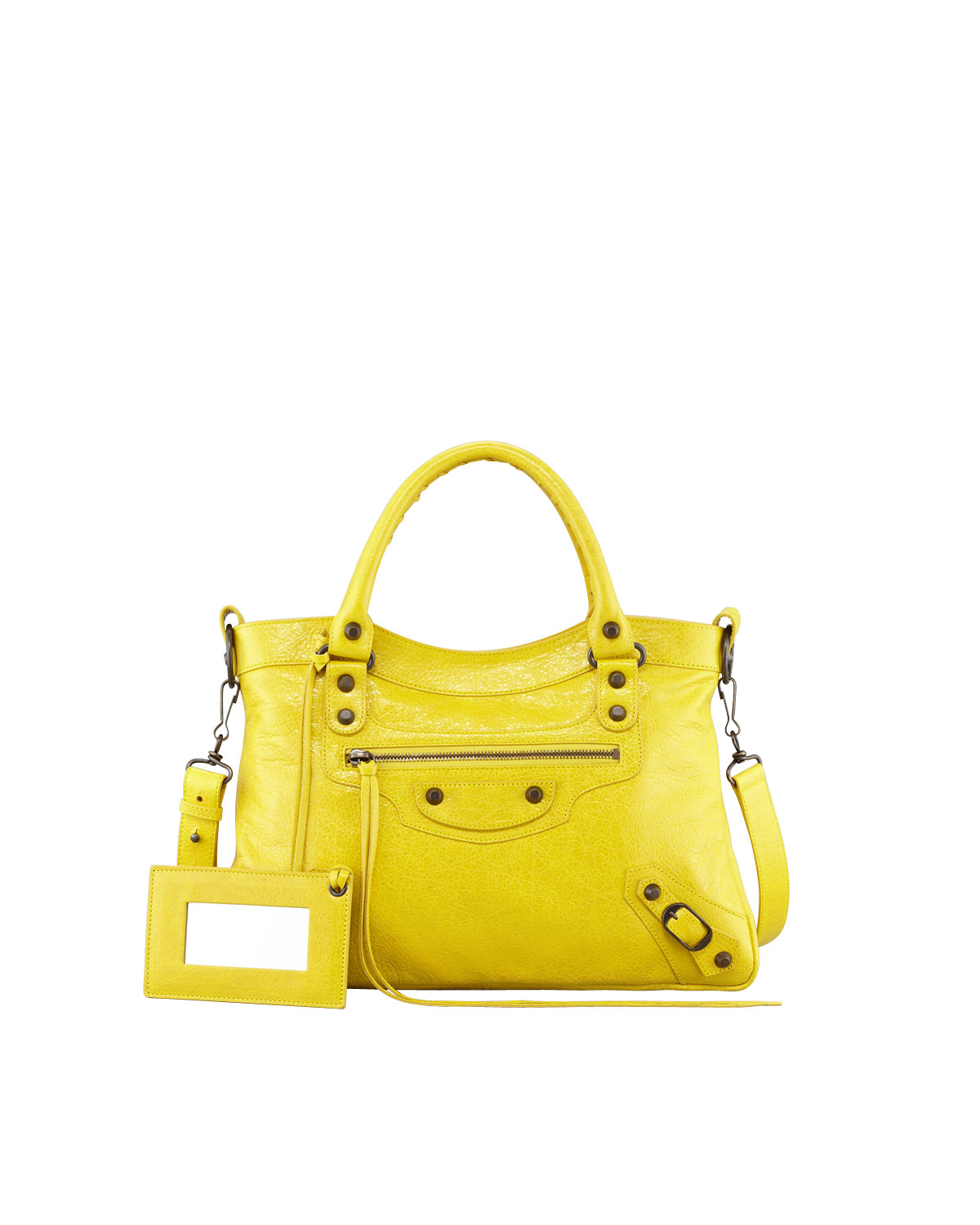 86edc56c961cf1 Balenciaga Town Bag In Curry | Stanford Center for Opportunity ...