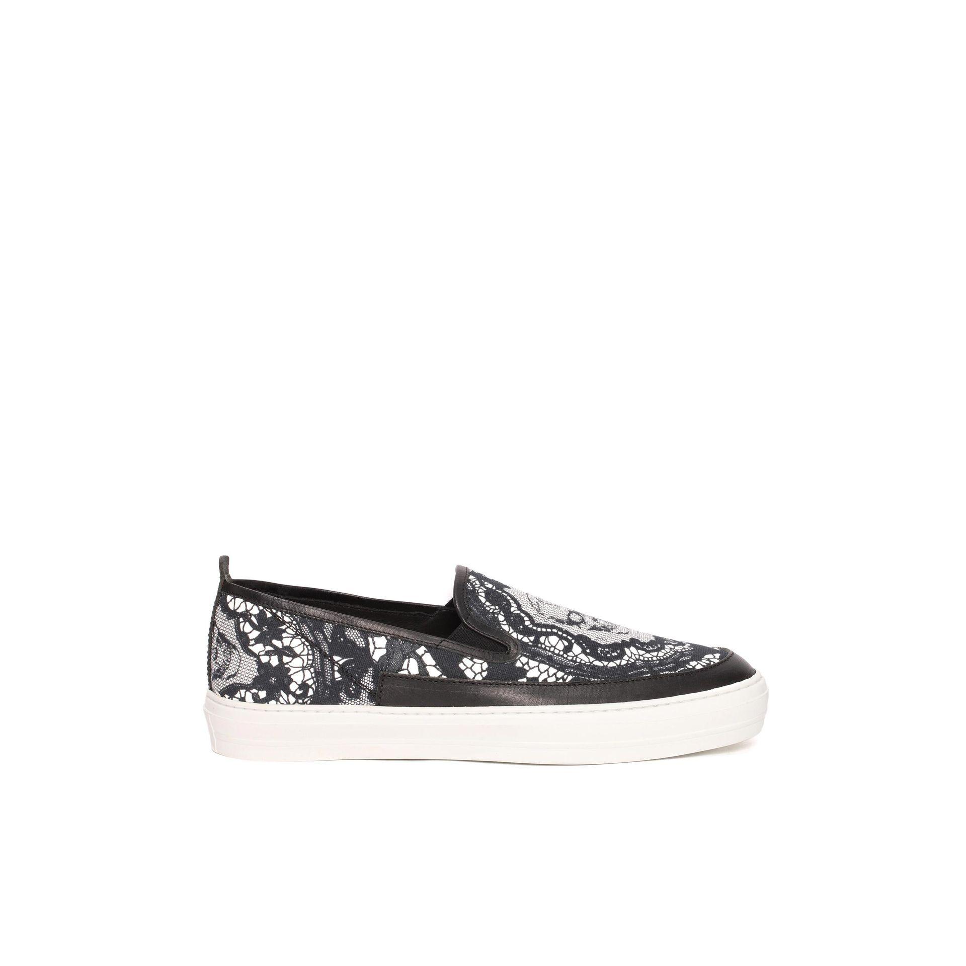 printed slip on sneakers - White Alexander McQueen zZgU4d