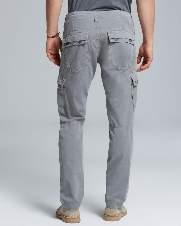 J brand Trooper Slim Cargo Pants in Gray for Men | Lyst