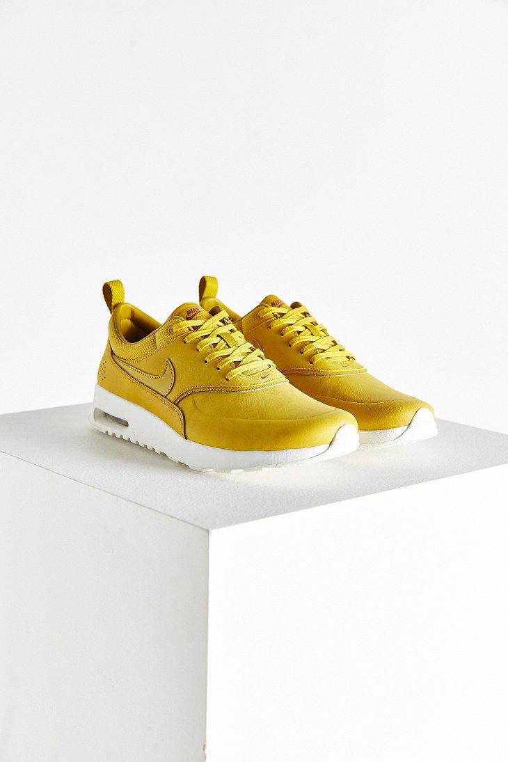 mustard color nikes