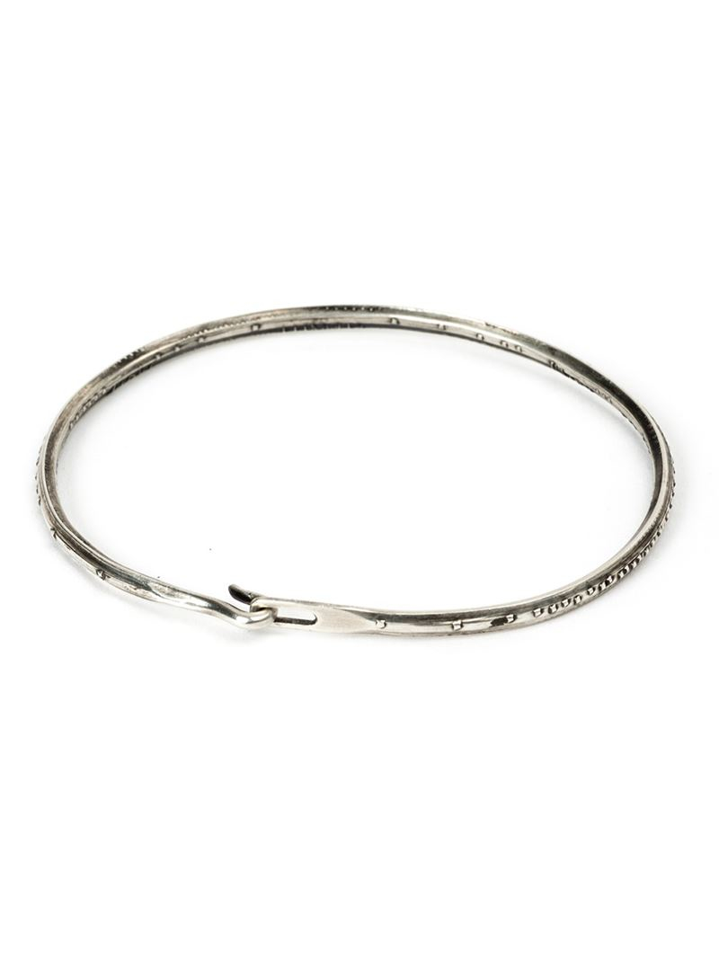 Werkstatt München hook closure bracelet - Metallic h9Eg92ZKSK