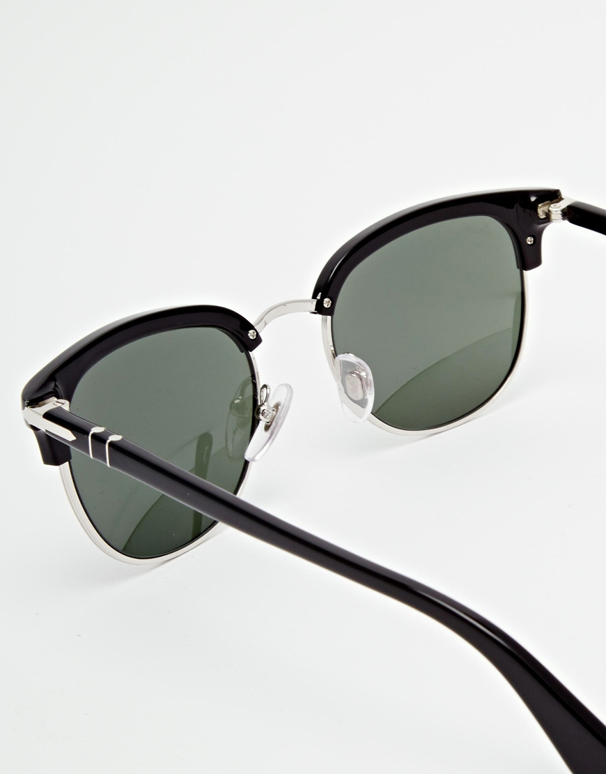 b0dce5ffd84f6 Persol Clubmaster Sunglasses in Black for Men - Lyst