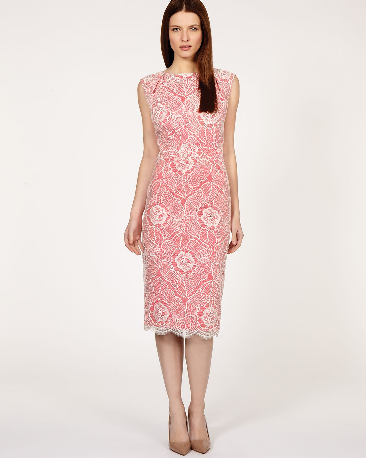 Lyst - Coast Dress Lexique in Pink