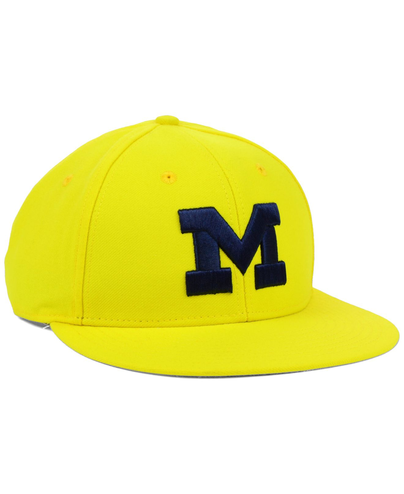71ce3808c7f Lyst - adidas Michigan Wolverines Ncaa On-field Baseball Cap in Metallic  for Men