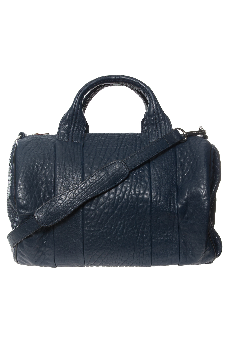 lyst alexander wang rocco stud bag in blue. Black Bedroom Furniture Sets. Home Design Ideas