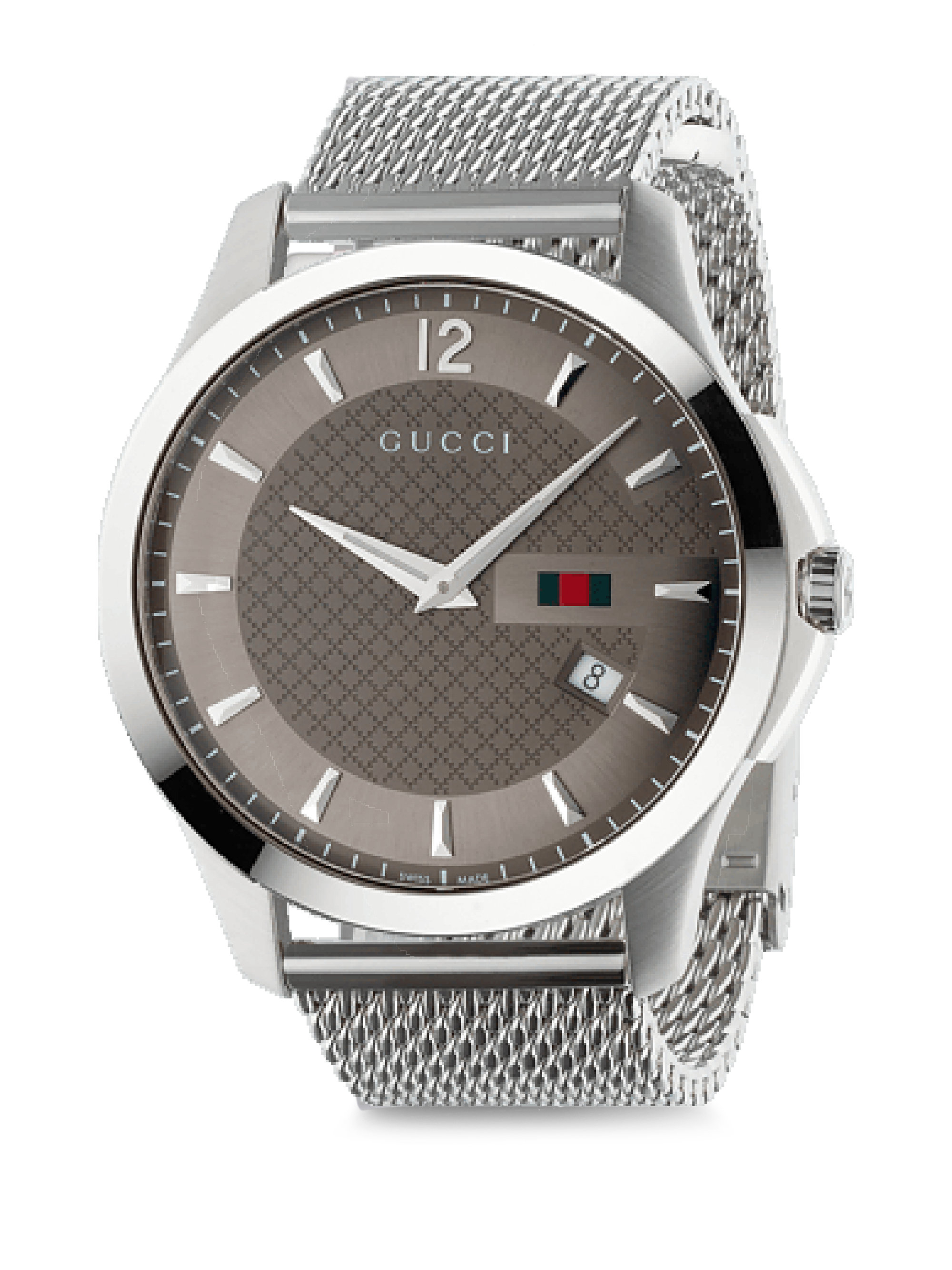 a7fc628565b Gucci - Metallic G-timeless Polished Stainless Steel Watch for Men - Lyst