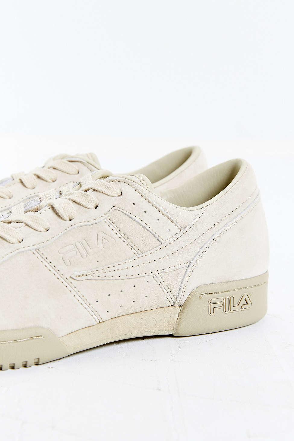 1cdfb704a9de Lyst - Fila Original Fitness Suede Sneaker in Brown for Men