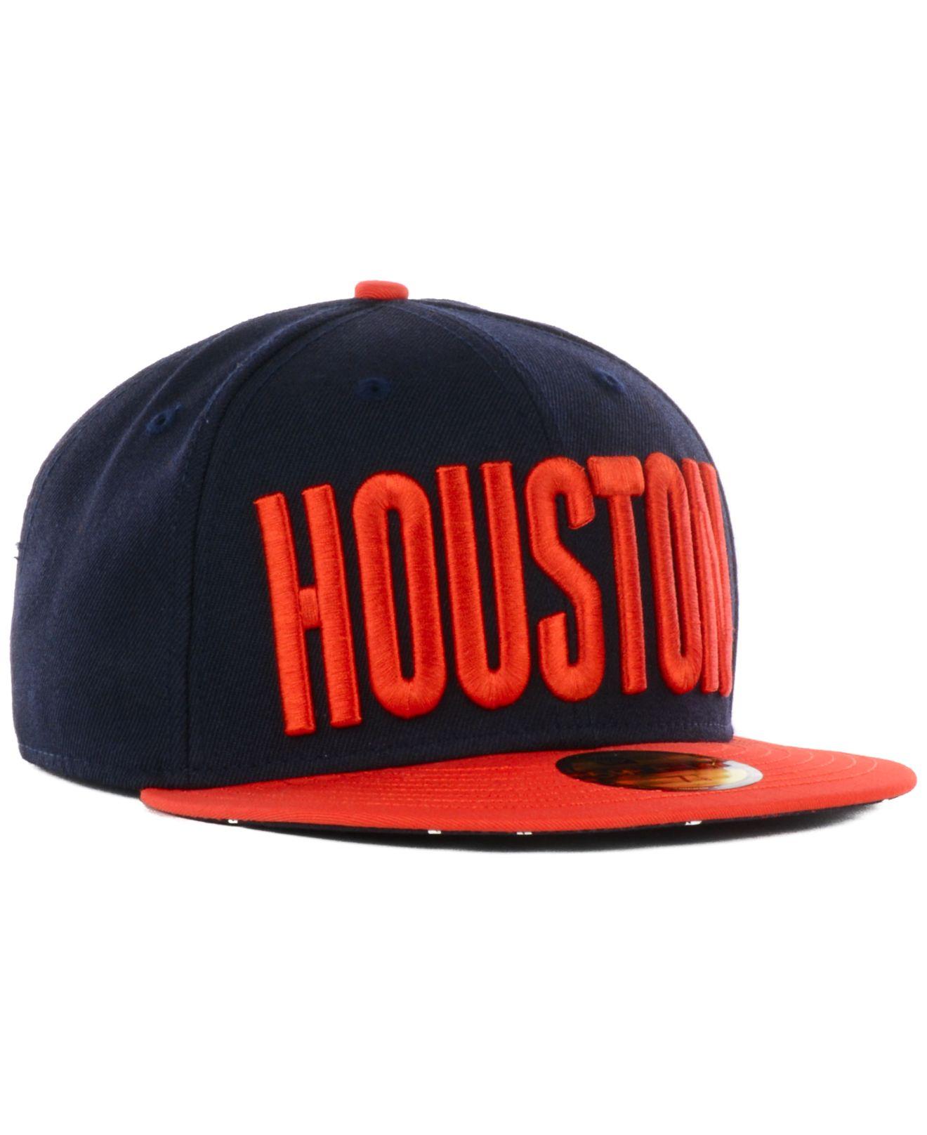 separation shoes 2ab2c ff7dc Lyst - KTZ Houston Astros Big Gps 59fifty Cap in Blue for Men