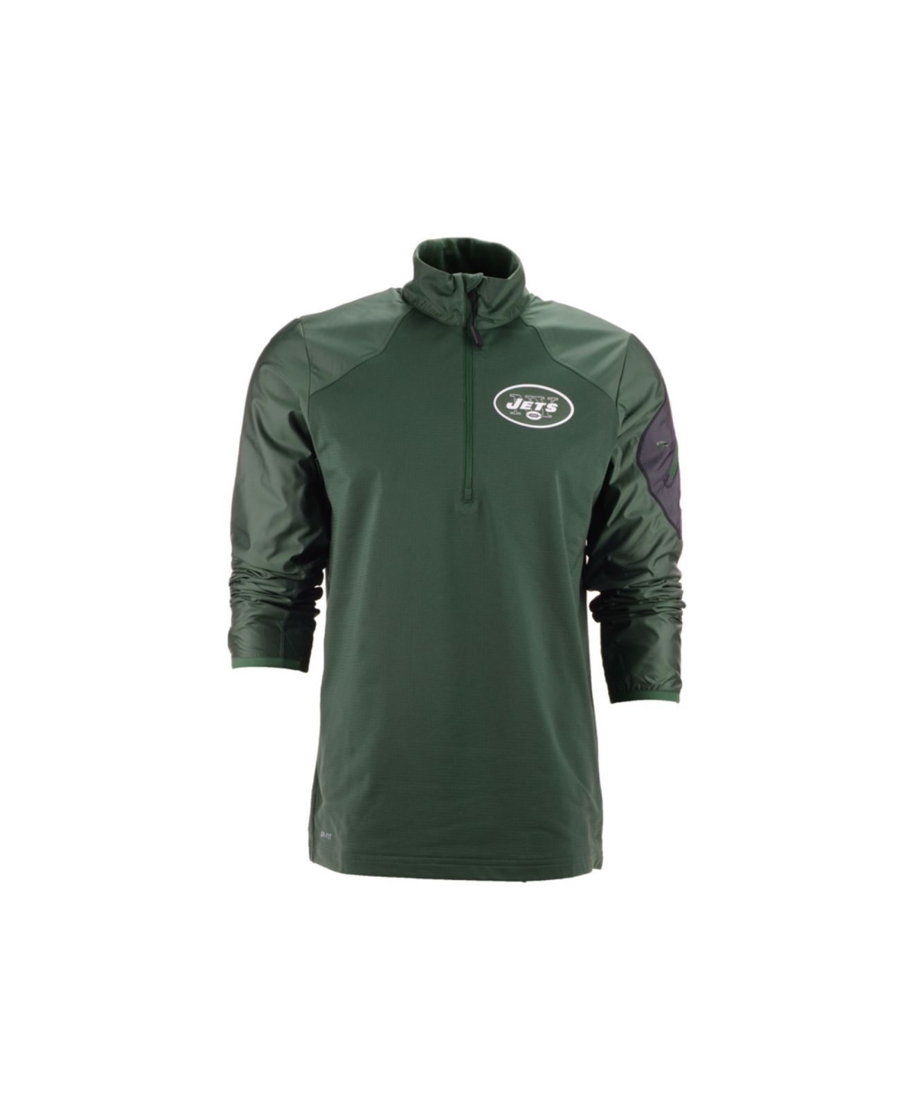 New York Jets Logo Pullover Hoodie Red