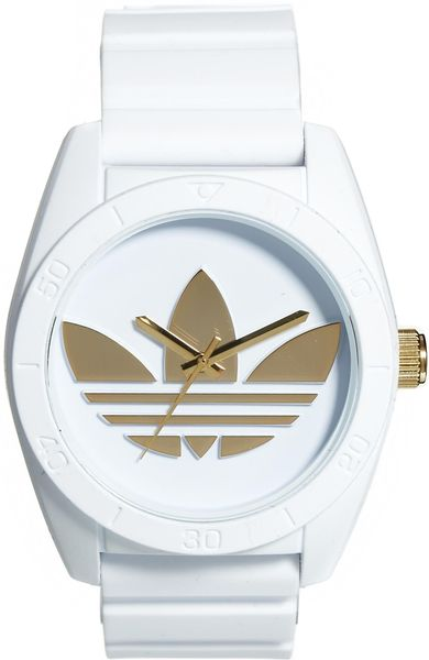 Adidas watch white