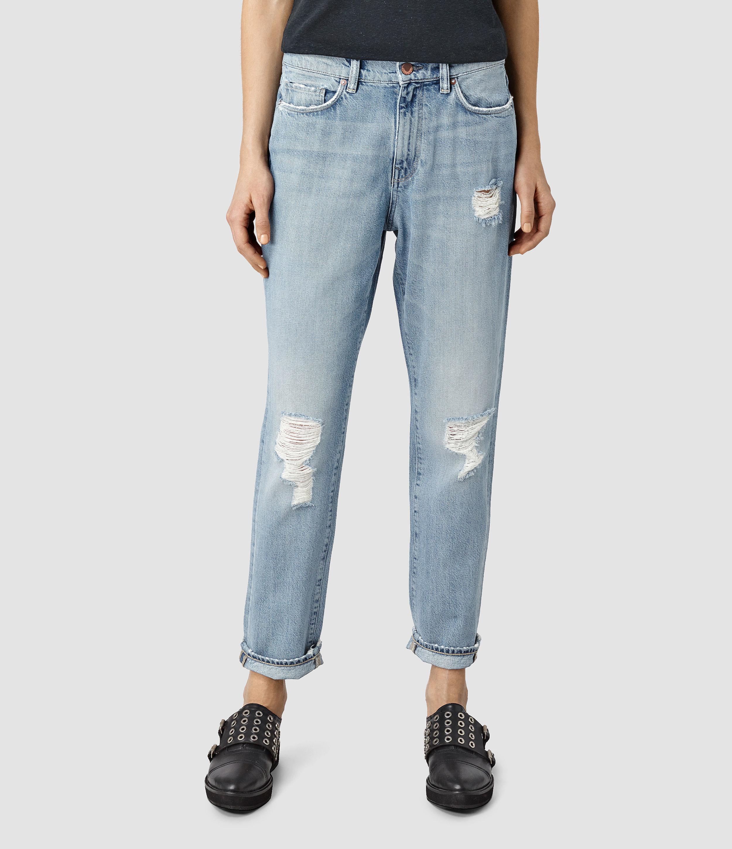 Great Deals DENIM - Denim trousers Allsaints Cheap Sale Original megEPJcI