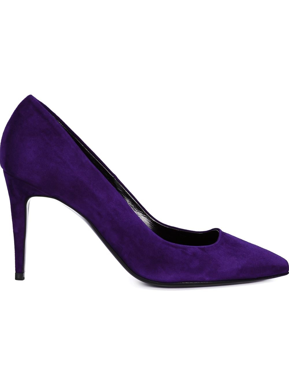 hardy suede shoes in pink pink purple lyst