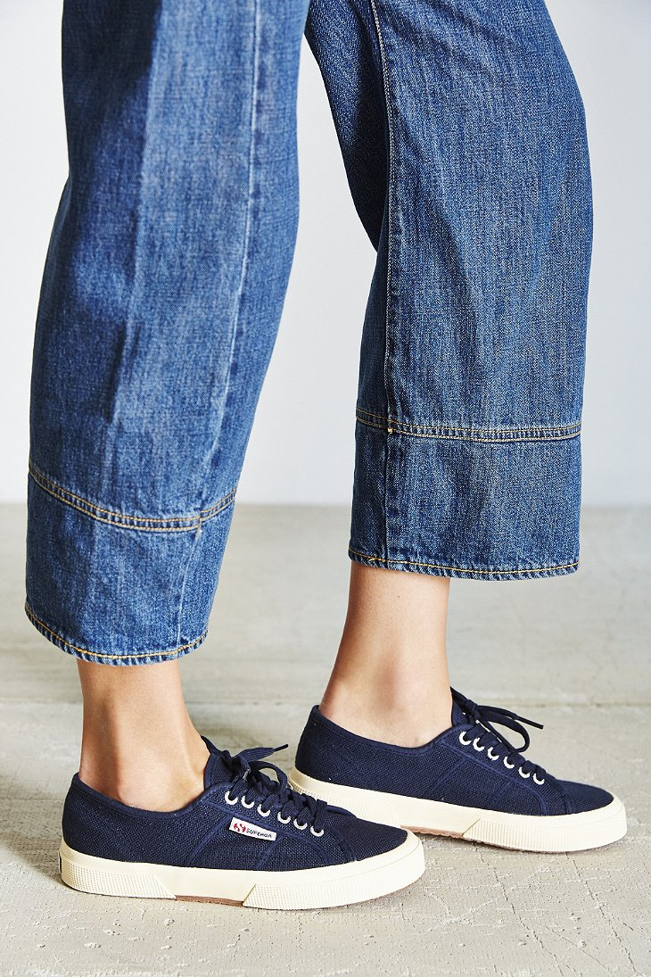 classic lace-up sneakers - Blue Superga IXMAhST