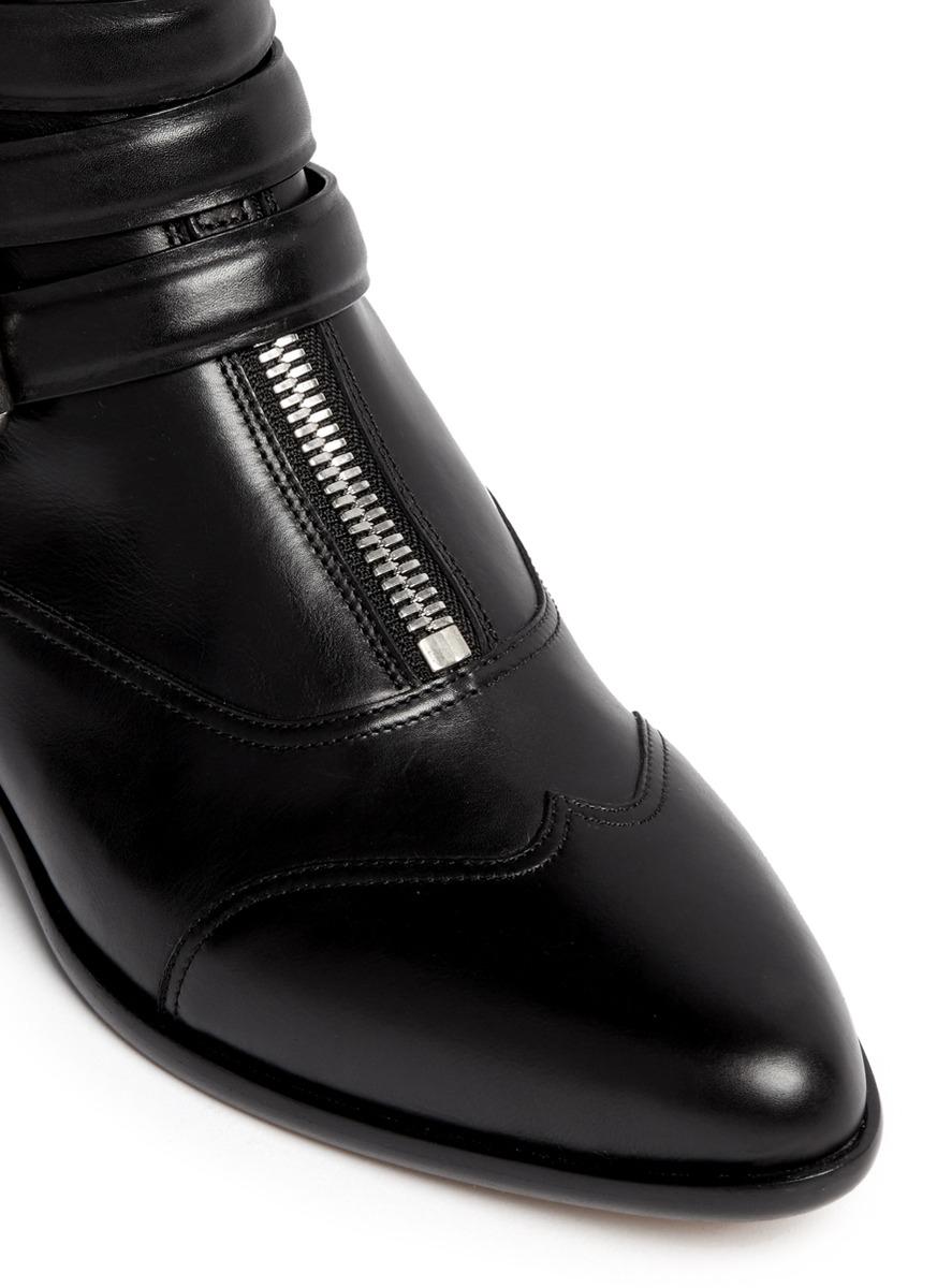Alberta Ferretti Shoes Black Cap Toe