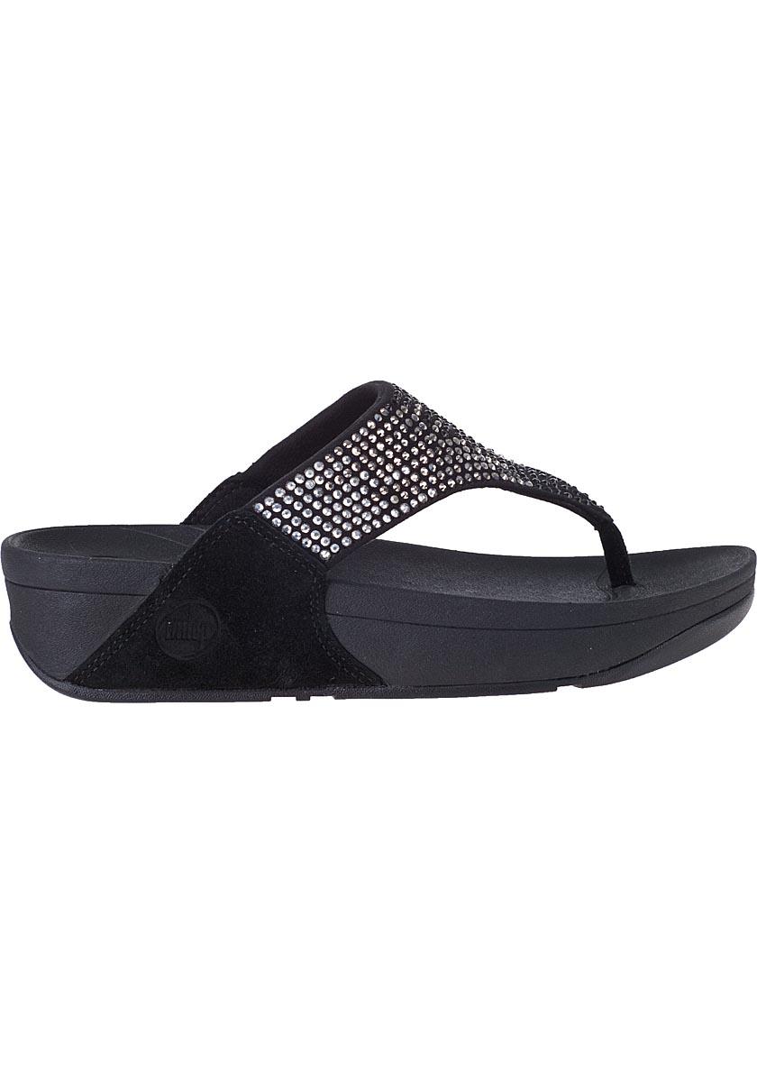 fitflop flare sandal black