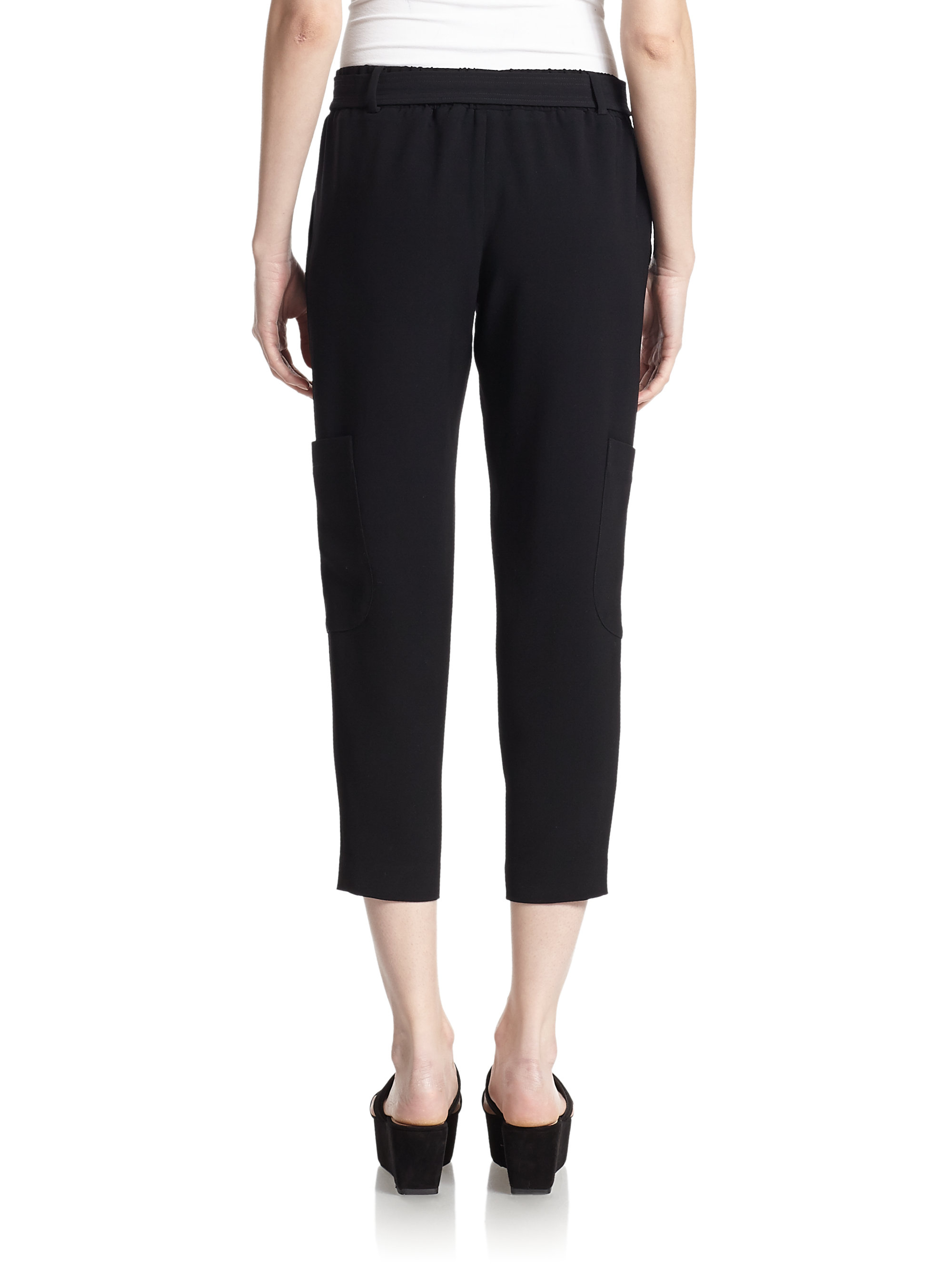 New Women With Control Regular Cropped Cargo Pants  Page 1  QVCcom
