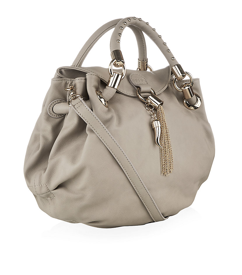 Liu jo Sophia Small Hobo Bag in Metallic | Lyst