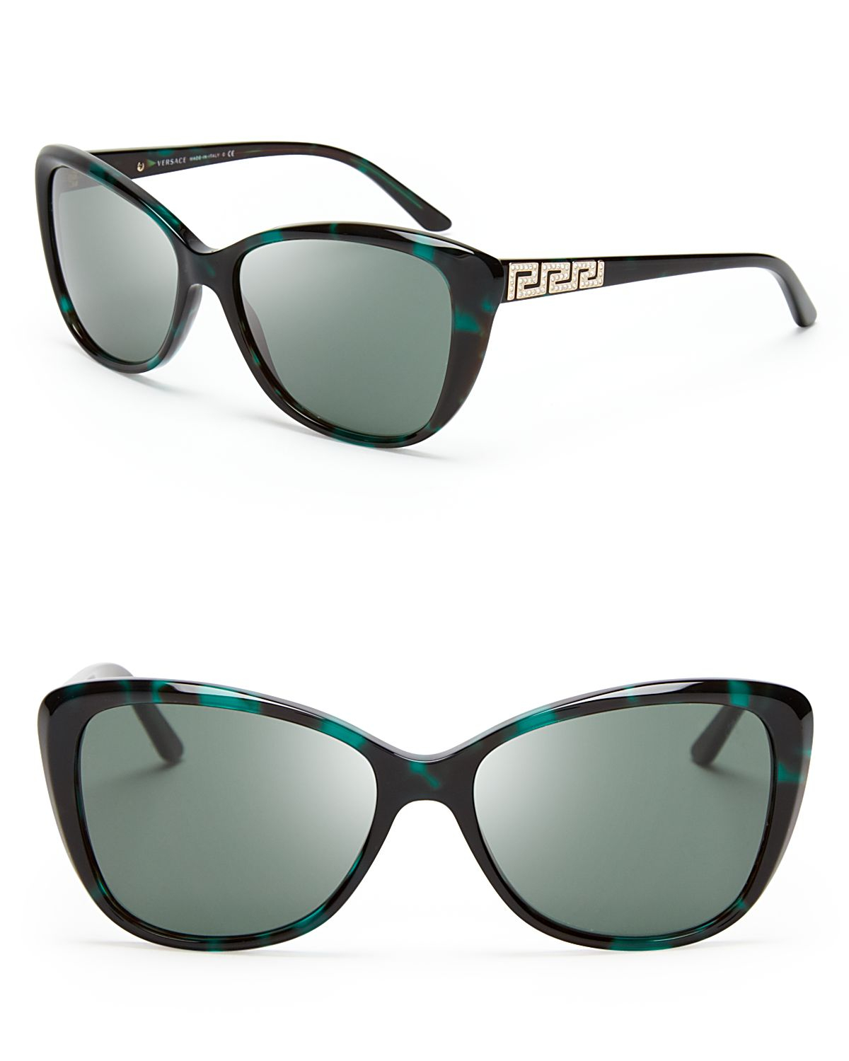 Versace Metal Sunglasses Versace Cat Eye Sunglasses in
