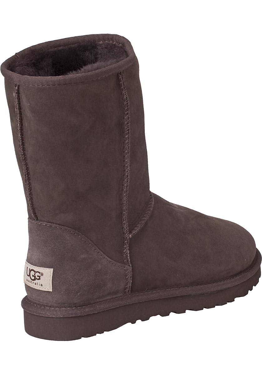 ugg classic boot chocolate brown in brown lyst