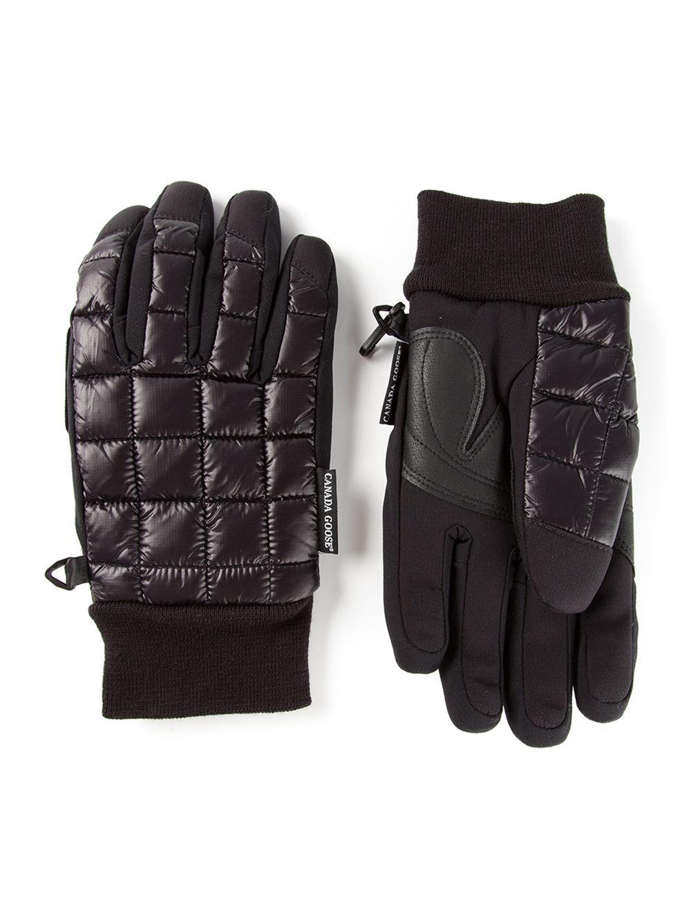 Canada Goose White Gloves