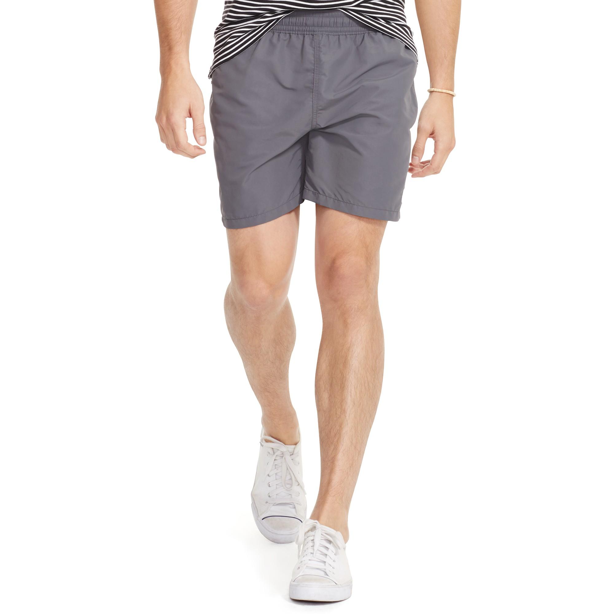 85bf1f62bb ... cheapest ralph lauren hawaiian swim shorts in gray for men lyst 6b956  dc4f1