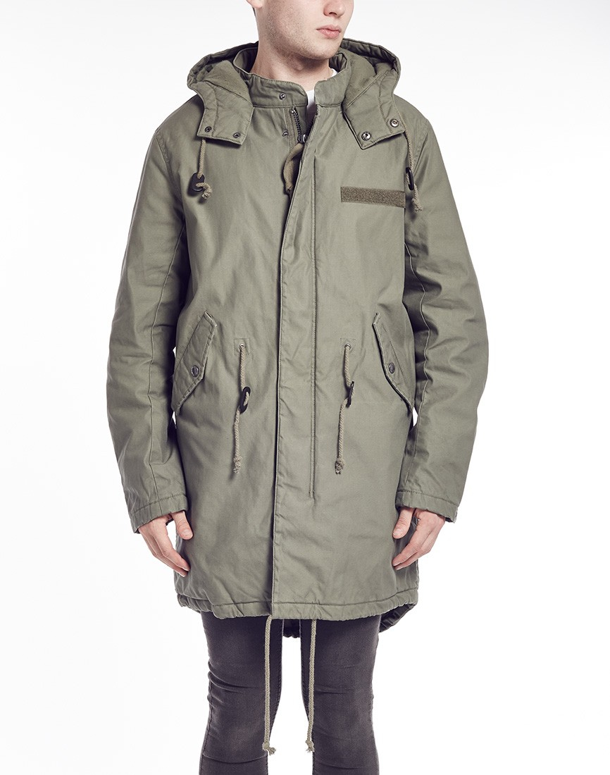 Cheap monday Parka in Green for Men   Lyst