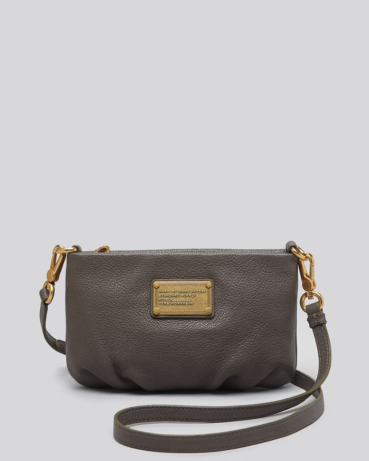 22bc6569602 Marc By Marc Jacobs Crossbody - Classic Q Percy in Gray - Lyst
