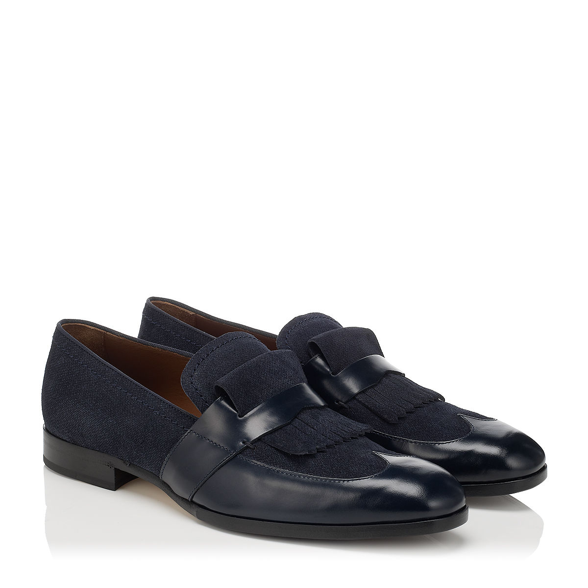 Lyst jimmy choo radnor in blue for men for Jimmy choo mens shirts