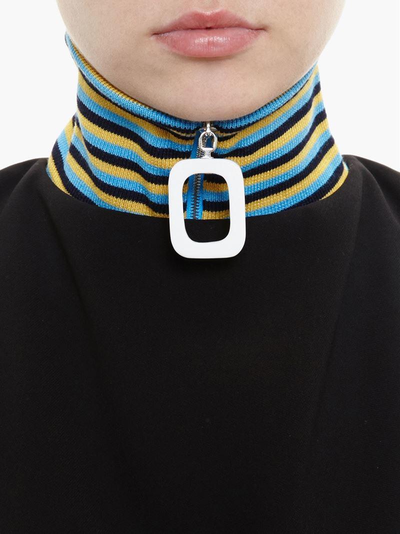 Lyst J W Anderson Wool Neckband In Blue